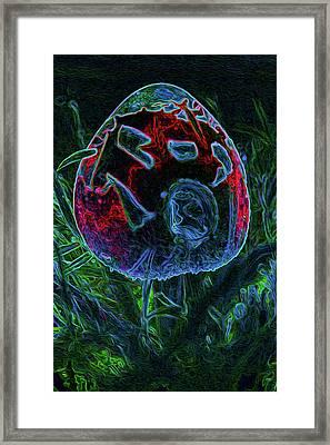 Magic Mushroom Framed Print by Marnie Patchett