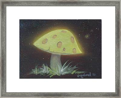 Magic Mushroom Framed Print