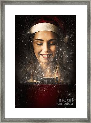 Magic Of Christmas Framed Print by Jorgo Photography - Wall Art Gallery
