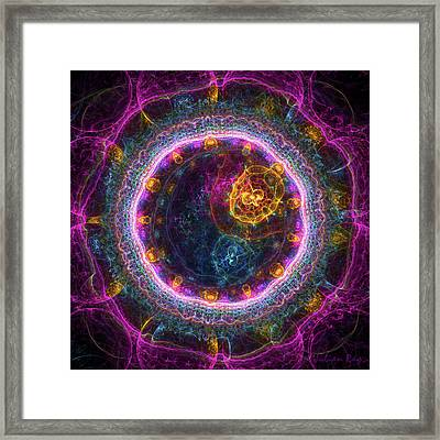 Magic Of Creation Framed Print by Julian Ray