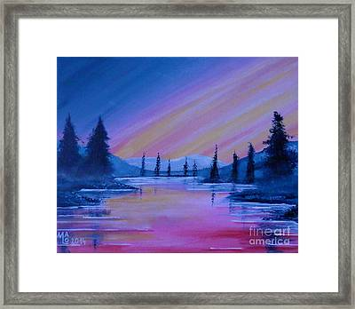 Magic Of Silence Framed Print by Mario Lorenz
