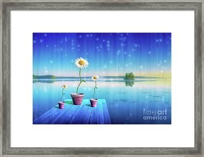 Magic Of Summer Framed Print
