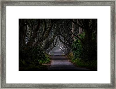 Magic Road Framed Print by Piotr Galus