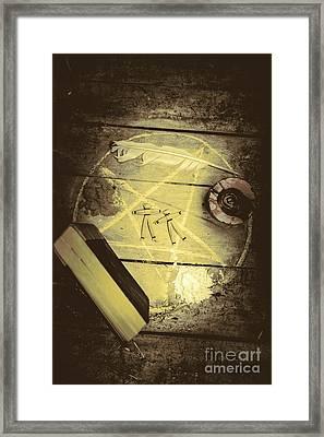 Magic Spells Framed Print