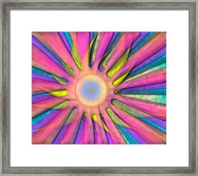 Magic Sun Framed Print