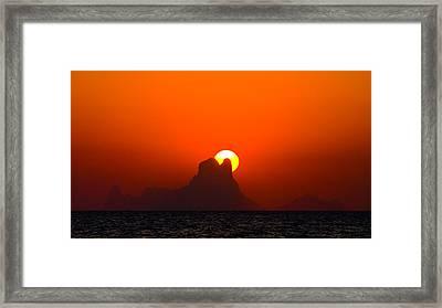 Magic Sunset Framed Print by Thomas Splietker
