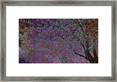 Framed Print featuring the painting Magic Tree by Linde Townsend