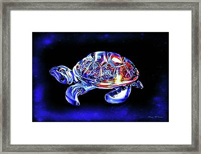 Magic Turtle Framed Print