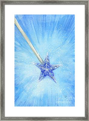 Magic Wand Framed Print