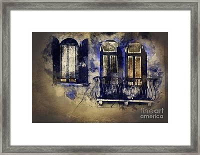 Magic Windows, Magic Nights Framed Print by Art MixMart