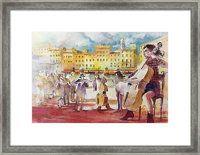 Magica Siena Framed Print by Alessandro Andreuccetti