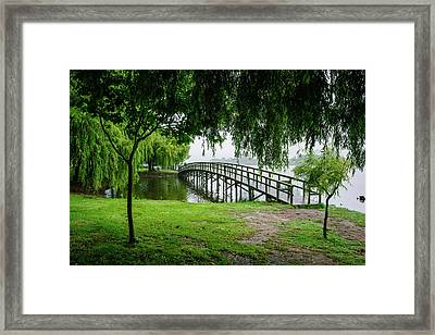 Magical Boardwalk I Framed Print