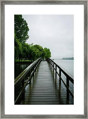 Magical Boardwalk II Framed Print