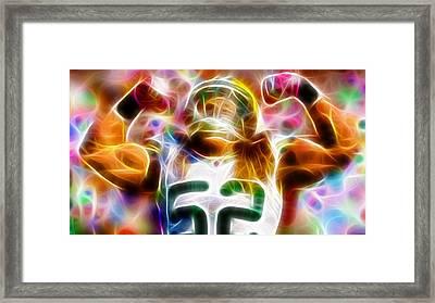 Magical Clay Matthews Framed Print