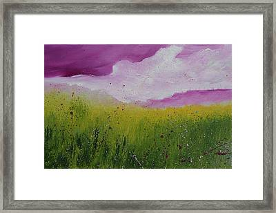 Magical Clouds Framed Print