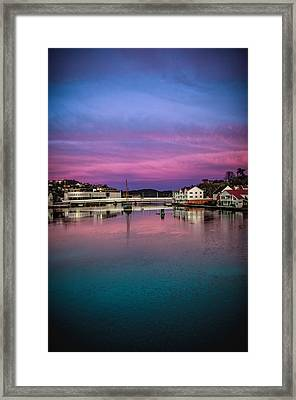 Magical Colors In Mandal Framed Print by Mirra Photography