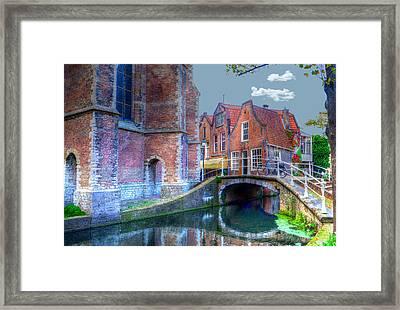 Magical Delft Framed Print