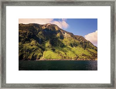 Magical Doubtful Sound New Zealand Framed Print by Joan Carroll