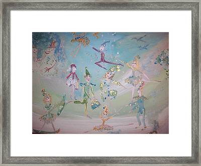 Magical Elf Dance Framed Print