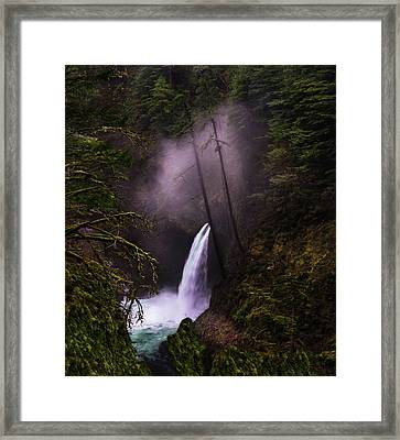 Magical Falls 2 Framed Print by Larry Marshall