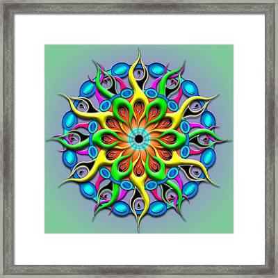Magical Hypnosis Framed Print