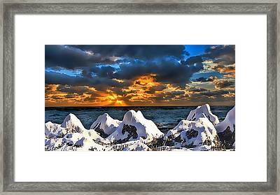 Magical Illusion Framed Print