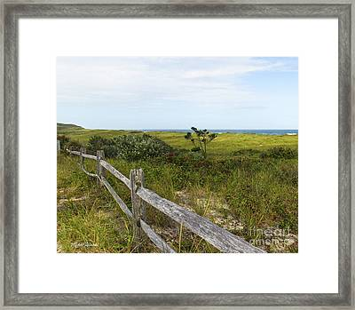 Framed Print featuring the photograph Magical Landscape by Michelle Wiarda