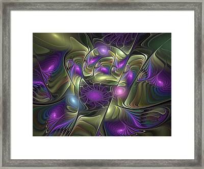 Magical Lights Framed Print by Gabiw Art