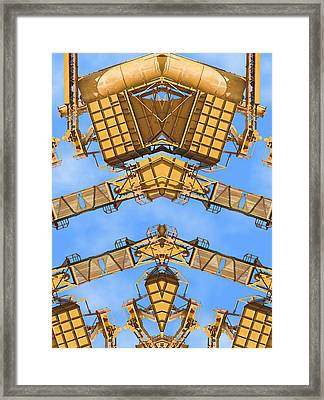 Magical Machinery 2 Framed Print by Wendy J St Christopher