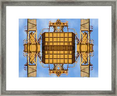 Magical Machinery 3 Framed Print by Wendy J St Christopher