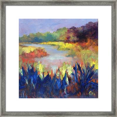 Magical Marsh Framed Print