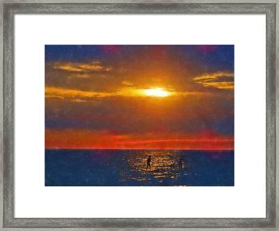 Magical Moment Framed Print