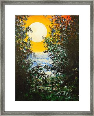Magical Moonlight Framed Print