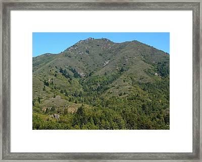 Magical Mountain Tamalpais Framed Print by Ben Upham III