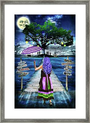 Magical New Orleans Framed Print