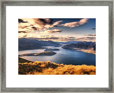 Magical New Zealand Framed Print