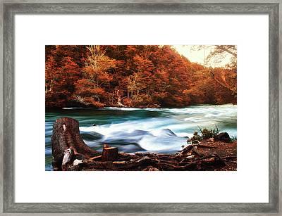 Magical Patagonia Framed Print