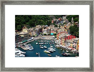 Magical Portofino  Framed Print by Brenda Kean