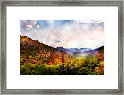 Magical Sedona Framed Print