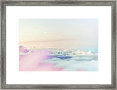 Magical Sky Framed Print by Uma Gokhale