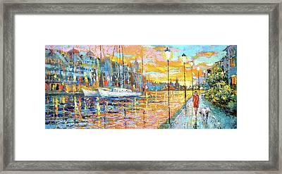 Magical Sunset Framed Print by Dmitry Spiros