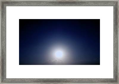 Magical Sunset In Africa Framed Print
