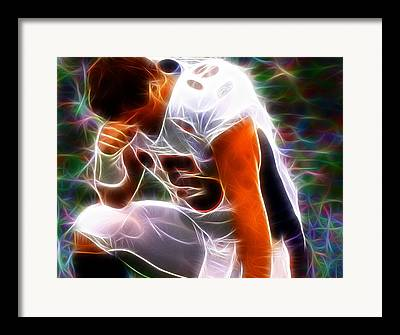 Tebowing Framed Prints