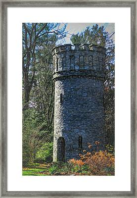 Magical Tower Framed Print