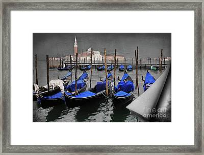 Magical Venice Framed Print by Bob Christopher