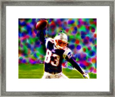 Magical Wes Welker  Framed Print