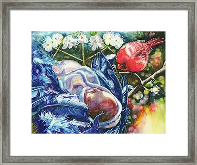 Magical Woods Framed Print