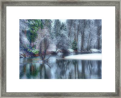 Magical Touch To Yosemite Framed Print