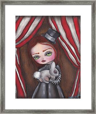 Magician Girl Framed Print by  Abril Andrade Griffith