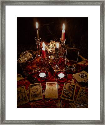 Magick Framed Print by Wild Thing